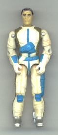 GI JOE 1989 Countdown (white)(figure) GI Joe Action Figures & G.I. Vintage Toys at Guru-Planet