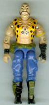 GI JOE 1989 Dreadnok Gnawgahyde (figure) GI Joe Action Figures & G.I. Vintage Toys at Guru-Planet
