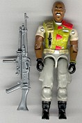 GI JOE Roadblock v2 (loose) GI Joe Action Figures & G.I. Vintage Toys at Guru-Planet