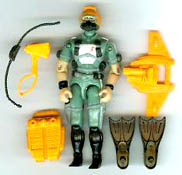 GI JOE Wet-Suit v1 (loose) GI Joe Action Figures & G.I. Vintage Toys at Guru-Planet