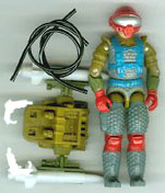 GI JOE 1987 Fast Draw (loose) GI Joe Action Figures & G.I. Vintage Toys at Guru-Planet