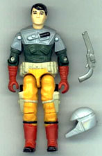 GI JOE 1987 Back-Stop (loose) GI Joe Action Figures & G.I. Vintage Toys at Guru-Planet