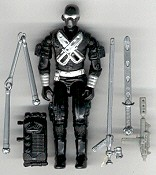 GI JOE Snake Eyes v3 (loose) GI Joe Action Figures & G.I. Vintage Toys at Guru-Planet