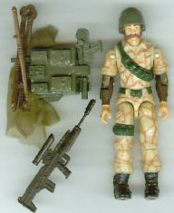 GI JOE 1990 Ambush (loose) GI Joe Action Figures & G.I. Vintage Toys at Guru-Planet