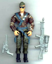 GI JOE Tomahawk (2000)(loose) GI Joe Action Figures & G.I. Vintage Toys at Guru-Planet