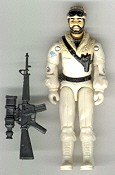 GI JOE 1985 Frostbite (loose) GI Joe Action Figures & G.I. Vintage Toys at Guru-Planet