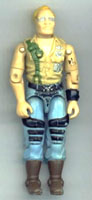 GI JOE 1985 Cobra Dreadnok Buzzer (figure) GI Joe Action Figures & G.I. Vintage Toys at Guru-Planet