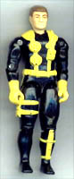 GI JOE 1991 Wet Suit (yellow)(figure) GI Joe Action Figures & G.I. Vintage Toys at Guru-Planet