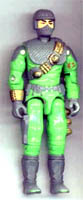 GI JOE 1991 Cobra Firefly v2 (grey)(figure) GI Joe Action Figures & G.I. Vintage Toys at Guru-Planet
