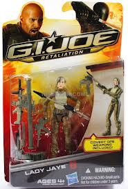 GI JOE Retaliation Lady Jaye Action Figure (moc) GI Joe Action Figures & G.I. Vintage Toys at Guru-Planet