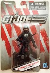 GI JOE Black Cobra Trooper Action Figure (moc) GI Joe Action Figures & G.I. Vintage Toys at Guru-Planet