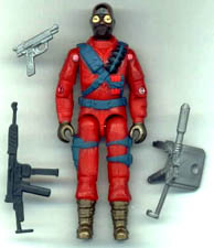 GI JOE Cobra Firefly (red)(sp) GI Joe Action Figures & G.I. Vintage Toys at Guru-Planet