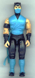 GI JOE Mortal Kombat Sub-Zero (figure) GI Joe Action Figures & G.I. Vintage Toys at Guru-Planet