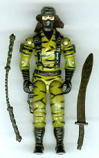 GI JOE Ninja Force Nunchuk (loose) GI Joe Action Figures & G.I. Vintage Toys at Guru-Planet
