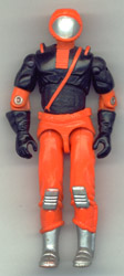 GI JOE Battle Corps Cobra Nitro-Viper (loose) GI Joe Action Figures & G.I. Vintage Toys at Guru-Planet