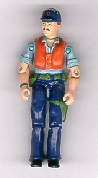 GI JOE 1984 Cutter (loose) GI Joe Action Figures & G.I. Vintage Toys at Guru-Planet