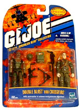 GI JOE Double Blast & Crossfire Action Figures (moc) GI Joe Action Figures & G.I. Vintage Toys at Guru-Planet