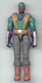 GI JOE Spy Troops Heavy Duty (green)(figure) GI Joe Action Figures & G.I. Vintage Toys at Guru-Planet