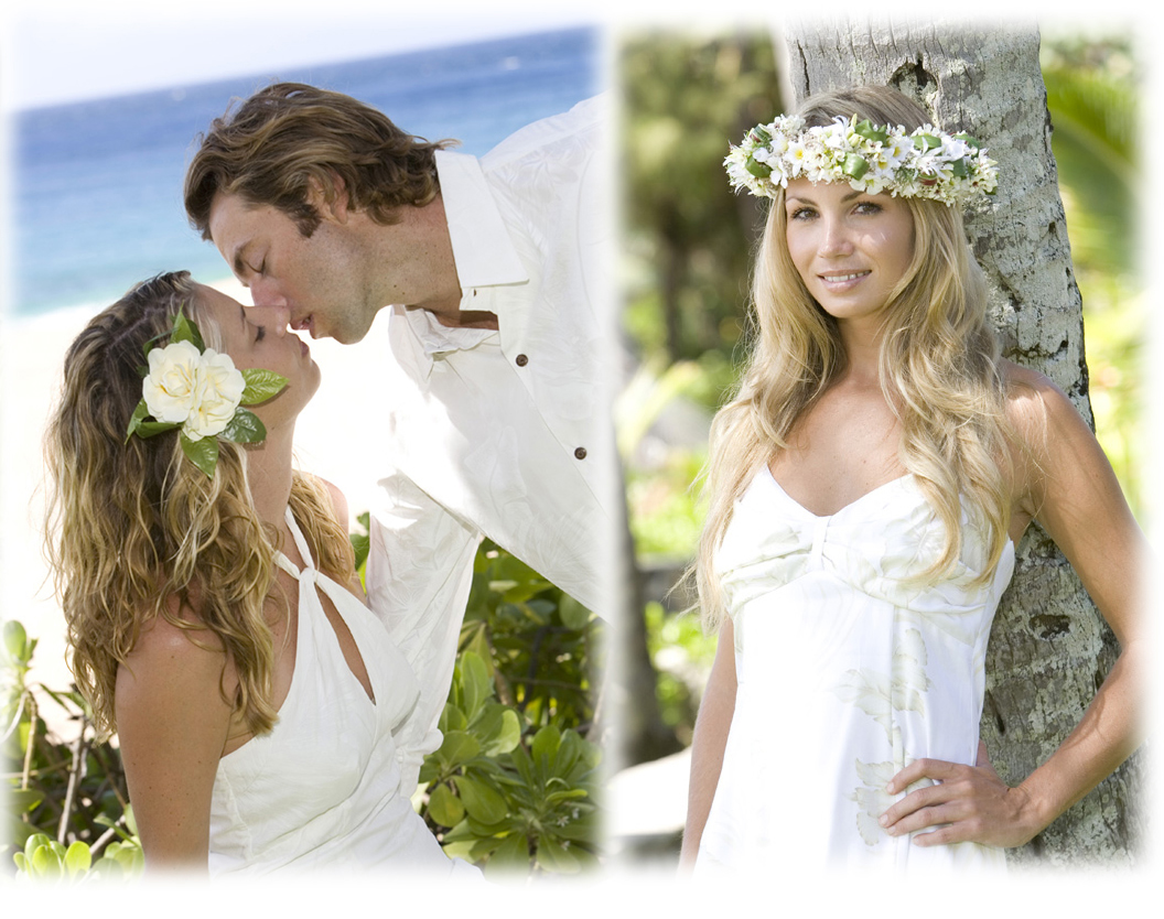 Hawaiian wedding images wedding dress decoration and for Honolulu wedding dress rental