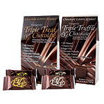 Triple Treat and Triple Truffle Healthy Chocolate Duo