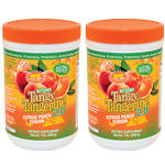 Beyond Tangy Tangerine 2.0 Citrus Peach Fusion 480 G Canister - Twin Pack