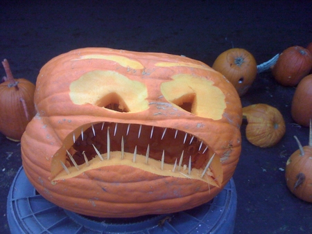 The Skewer Teeth Pumpking