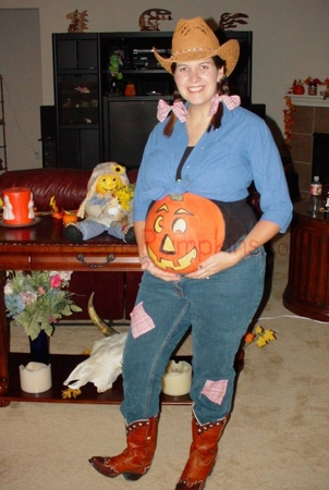 Pregnant Belly Pumpkin