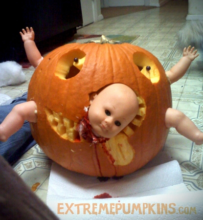 The Baby Parts Pumpkin
