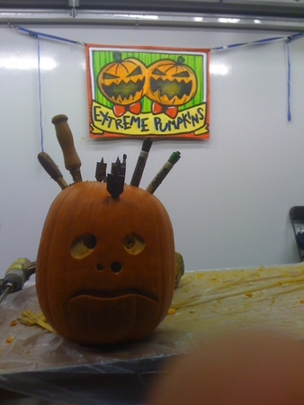 My Tool Holder Pumpkin