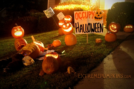 Occupy Halloween Is This Year's Timely Theme