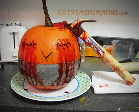 Hammer Head Pumpkin