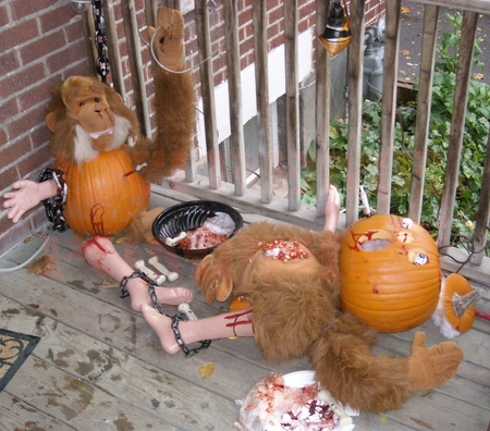 The Doctor Moreau Pumpkin Scene
