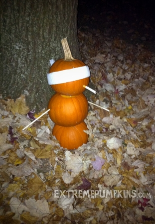 The Firing Squad Pumpkin