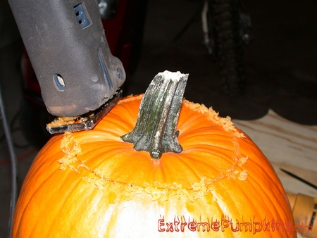 Decapitating The Pumpkin