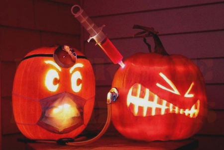 The Doctor Visit Pumpkin