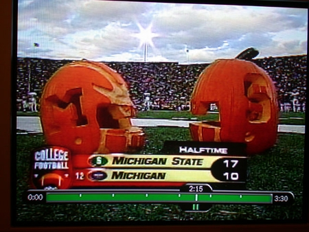 Head to Head Pumpkins