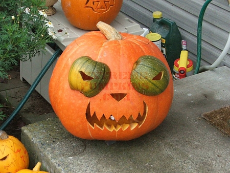 The Buggy Eyed Pumpkin