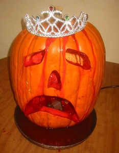 The Final Carrie Pumpkin