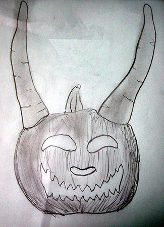 Horned Pumpkin