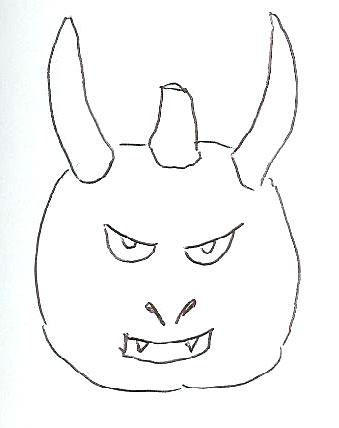 Devil Horns Pumpkin