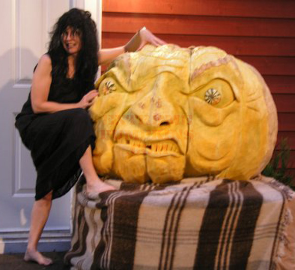 An Ugly Giant Pumpkin