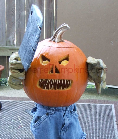 Toothpicks for Teeth Pumpkin