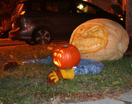 The Steamroller Pumpkin