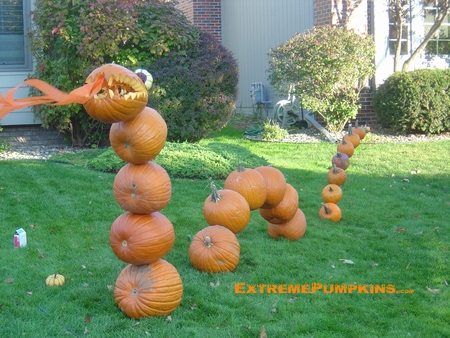 The Pumpkin Dragon