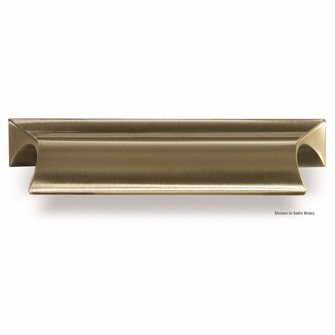 Colonial Bronze 435 Solid Brass Pull CC- 2 1/2 inch 3 inch Overall-3 1/2 inch