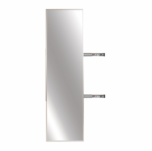 Pull Out Closet Mirror Hardware Image