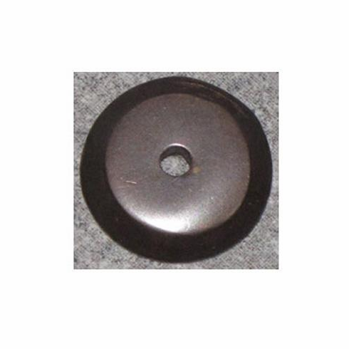 "Top Knobs M1457 Aspen Aspen Round Backplate 7/8"" - Medium Bronze, L=7/8"", W=7/8"", P=3/16"", CC=-"