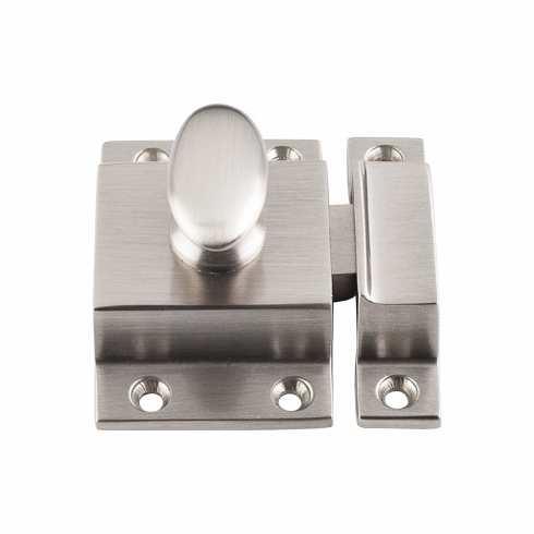 """Top Knobs M1779 Additions Cabinet Latch 2"""" - Brushed Satin Nickel, L=2"""", W=2"""", P=1/2"""", CC=-"""