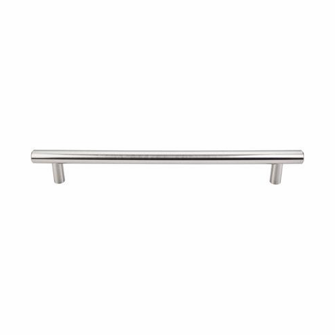 """Top Knobs M1331-12 Appliance Hopewell Appliance Pull 12"""" (c-c) - Brushed Satin Nickel, L=14 1/4"""", W=3/4"""", P=2"""", CC=12"""""""
