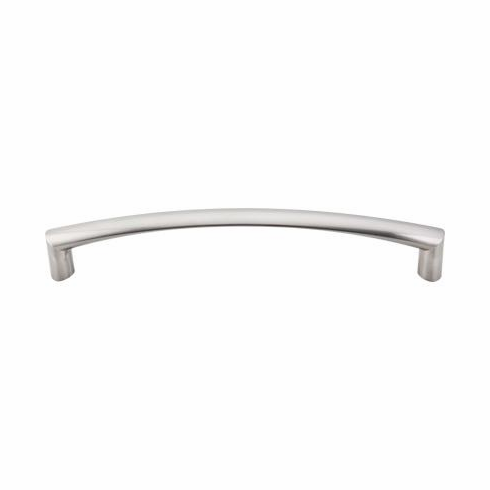 "Top Knobs TK141BSN Appliance Griggs Appliance Pull 12"" (c-c) - Brushed Satin Nickel, L=12 13/16"", W=1"", P=2"", CC=12"""